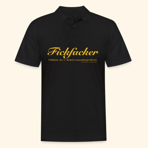 Fickfacker - Männer Poloshirt