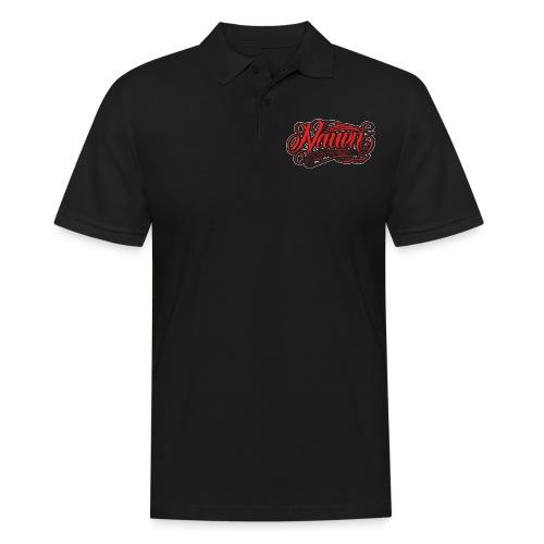 Nauen Black Rocker - Männer Poloshirt