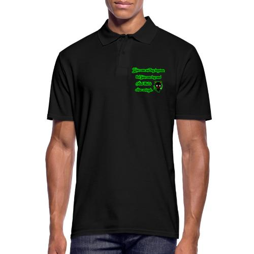 You can't buy happiness, but weed - cannabis - Men's Polo Shirt