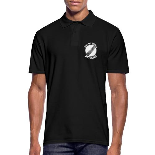 Save The German Autobahn - Männer Poloshirt