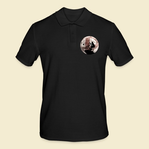 Radball | Cycle Ball Moon - Männer Poloshirt