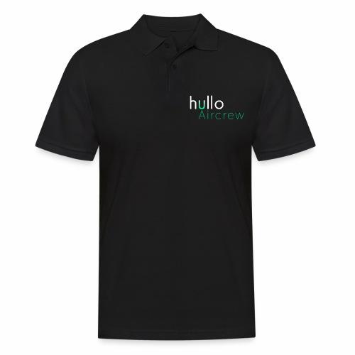 hullo Aircrew Dark - Men's Polo Shirt