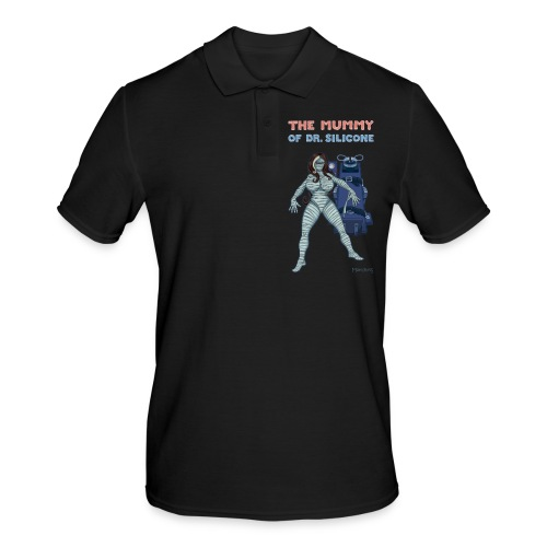 The Mummy of Silicone. - Men's Polo Shirt