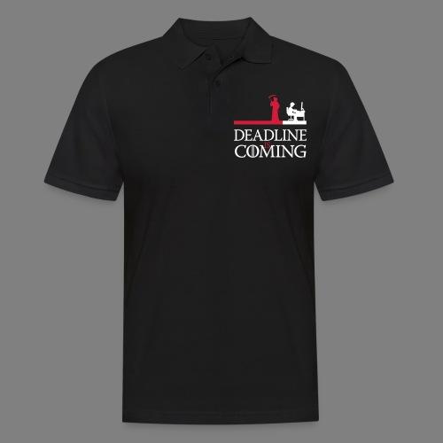 deadline is coming - Männer Poloshirt