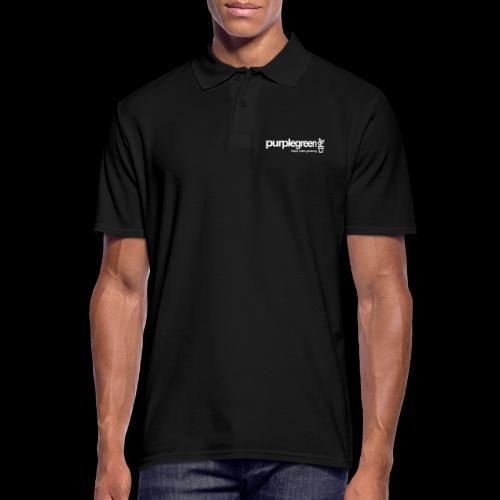 purplegreen classic - Männer Poloshirt