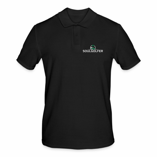 Soulgolfer Logo - Männer Poloshirt