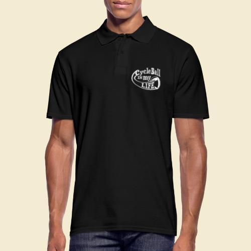 Radball | Cycle Ball is my Life - Männer Poloshirt