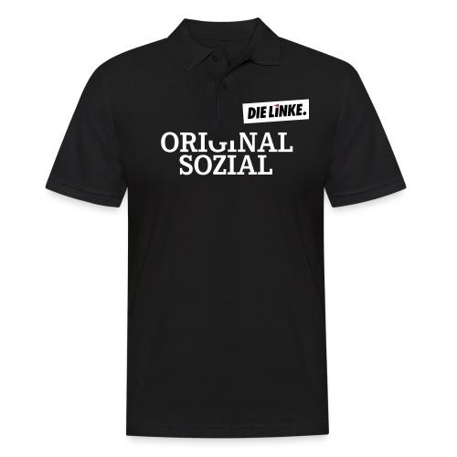 Schriftzug_original - Männer Poloshirt