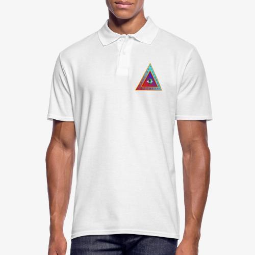 Dreieck - Männer Poloshirt