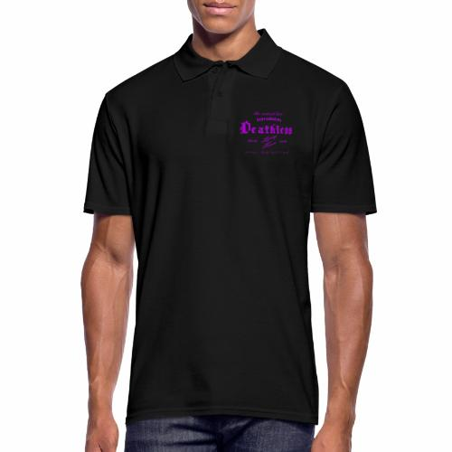 deathless living team violet - Männer Poloshirt