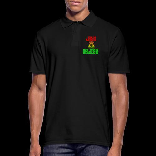 JAH BLESS RASTAFARI - Männer Poloshirt