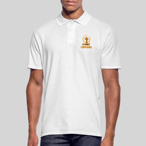 Christ Centered Focus on Jesus - Männer Poloshirt