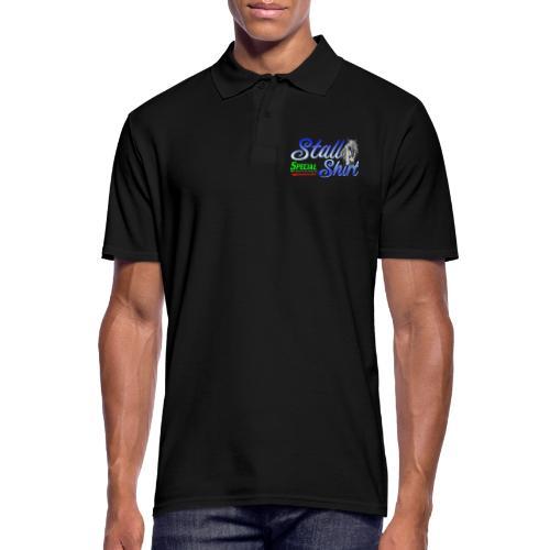 Special Edition Stall Shirt Reiten Geschenkidee - Männer Poloshirt