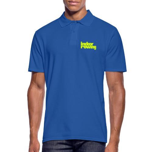 indoor rowing - Men's Polo Shirt