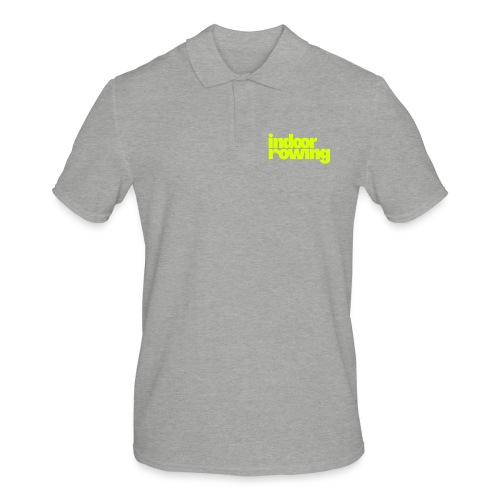 indoor rowing - Men's Polo Shirt