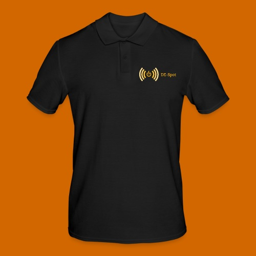 despotlogogelb - Männer Poloshirt