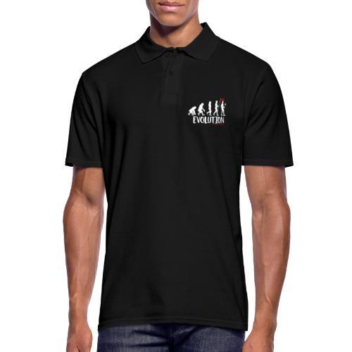 Die Evolution - Männer Poloshirt
