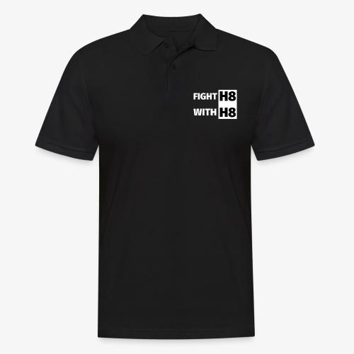 FIGHTH8 bright - Men's Polo Shirt