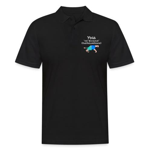 Yoga, Yogi, Asana Der Wegweiser - Männer Poloshirt