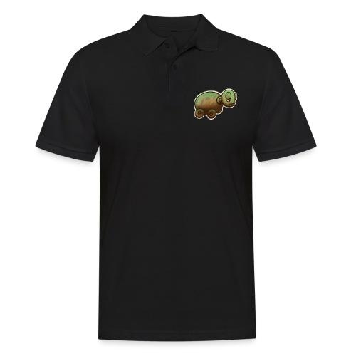 Vintage Spielzeug Holz Schildkröte / Wooden Turtle - Männer Poloshirt