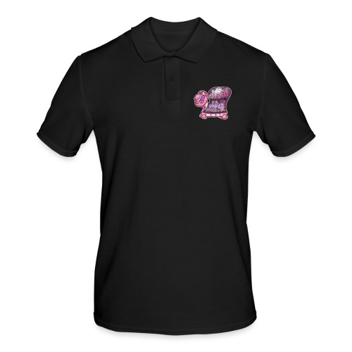 Graffiti Tag turtle / Schildkröte Graffiti Logo - Männer Poloshirt