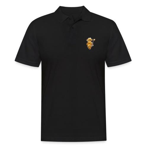 Goldene Gangster Kuh / Gold Thug Cow - Männer Poloshirt