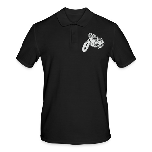 Cafe Racer -Keep it simple - Männer Poloshirt