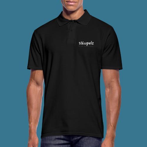 Säupelz - Männer Poloshirt