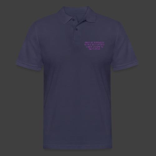 Never - Men's Polo Shirt