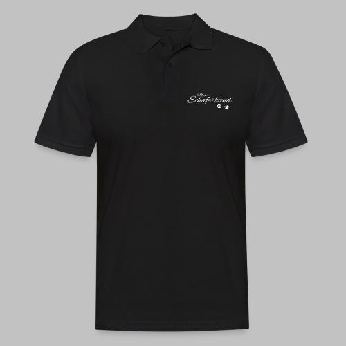 Mein Schäferhund - T-Shirt - Hoodie - Pullover - Männer Poloshirt