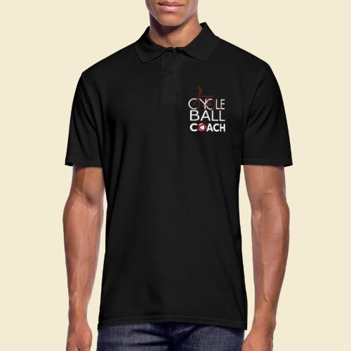 Radball | Cycle Ball Coach - Männer Poloshirt