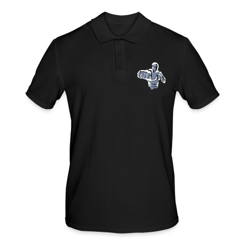 Krav Maga Blanko Brust - Männer Poloshirt