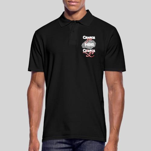 change your mind change your life - Männer Poloshirt