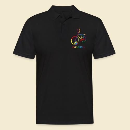 Radball | Cycle Ball Rainbow - Männer Poloshirt
