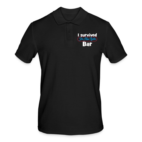 I survived the Blue Oyster Bar - Männer Poloshirt