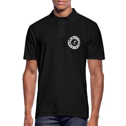 Schwarzfahrer Ski Skifahrer - Männer Poloshirt