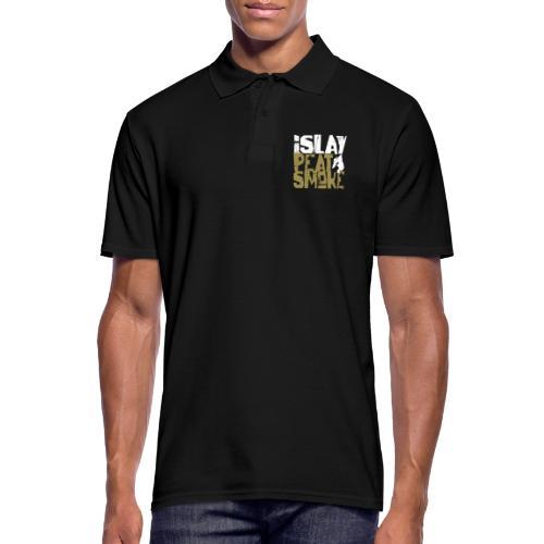 Islay Peat Smoke - Männer Poloshirt