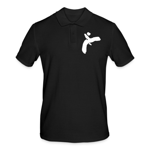 Martial Arts Kick - Slhouette Minimal Wushu Kungfu - Men's Polo Shirt