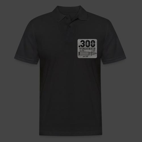 kaliber 308 quadrat - Männer Poloshirt