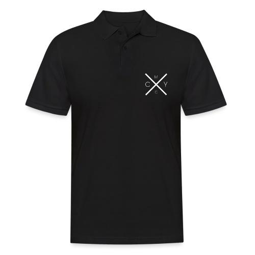 CMYC WHITE - Männer Poloshirt