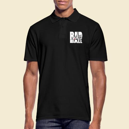Radball   Typo - Männer Poloshirt
