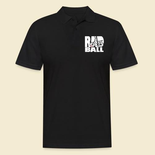 Radball | Typo - Männer Poloshirt