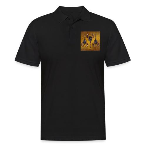 3 Skorpione - Illustration - Männer Poloshirt