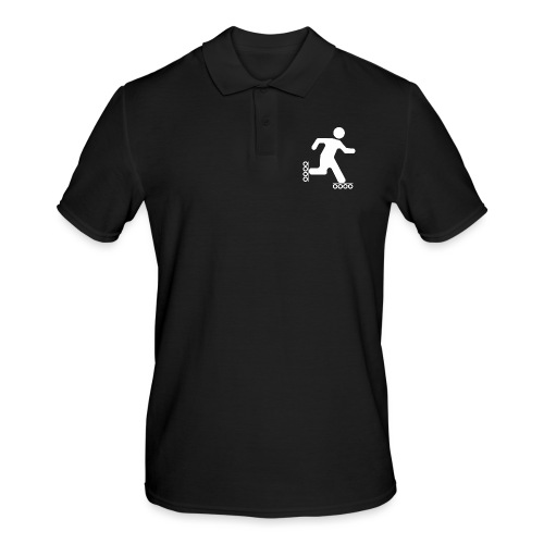 Strichmann Speedskater - Männer Poloshirt