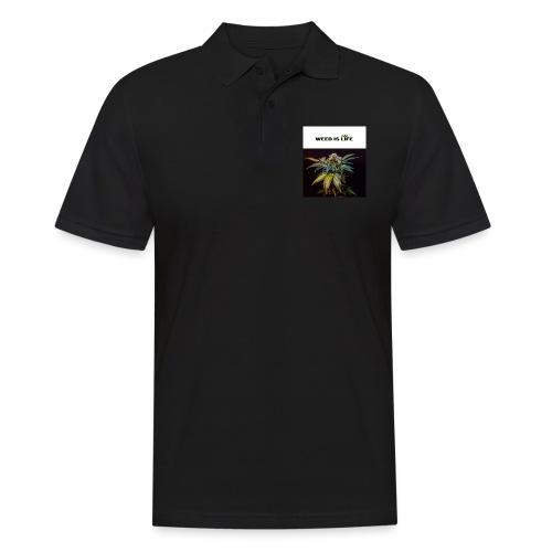 WEED IS LIFE - Männer Poloshirt