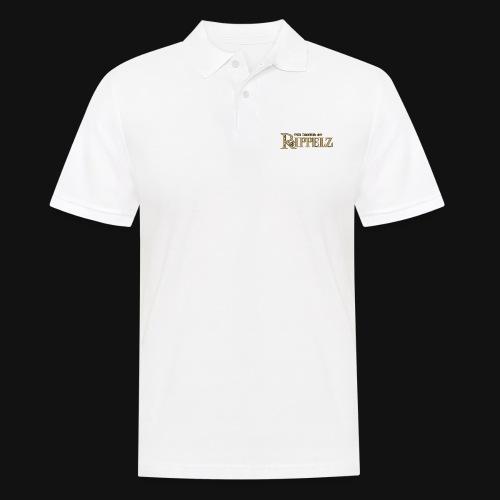 Rippelz - The Legend of Rippelz (Schriftzug only) - Männer Poloshirt