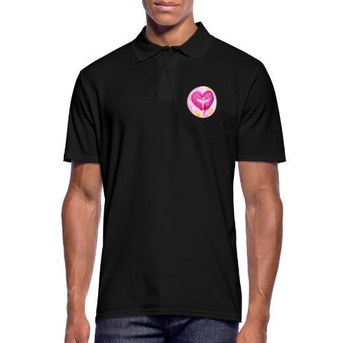 Engel des LiebesGlücks - Männer Poloshirt