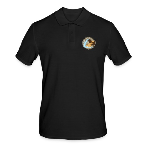 Bart Welle - lustiges Geschenk für Männer mit Bart - Männer Poloshirt