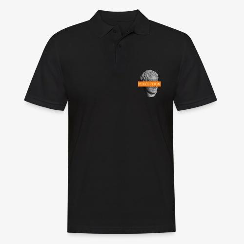 TETE GRECQ ORANGE - PERCEPTION CLOTHING - Polo Homme