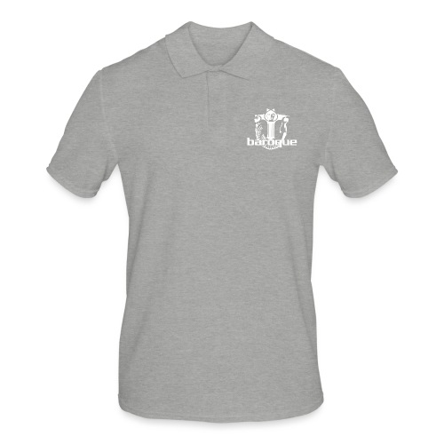 Baroque Records Logo Small - Männer Poloshirt